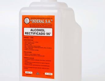 Alcohol Etílico Rectificado de 96º GL