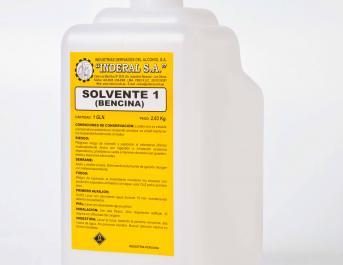 Bencina (Solvente 1)